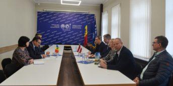 Președintele CCI a RM a avut o întâlnire de lucru cu Ambasadorul Letoniei în Republica Moldova