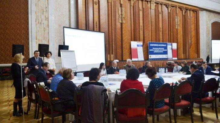 """Conferința Națională """"Guvernare eficientă şi viabilă a instituțiilor de învățământ profesional tehnic"""""""