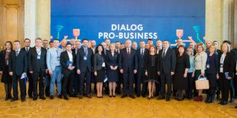 """Forumul Economic """"Dialog pro-business"""" a adunat cca 600 de agenți economici autohtoni"""
