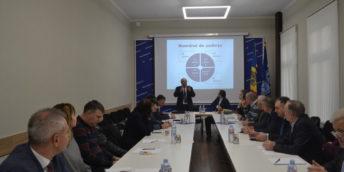 Adunarea Generală a arbitrilor Curții de Arbitraj Comercial Internațional de pe lângă Camera de Comerț și Industrie a Republicii Moldova.