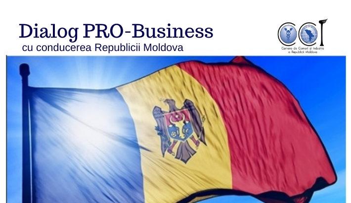 CCI a RM te invită la un dialog cu conducerea Republicii Moldova