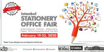 Expoziţia Internaţională de papitărie și rechizite de birou- Istanbul Stationery & Office