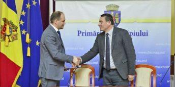 CCI a RM și Primăria Capitalei au semnat un acord de colaborare în vederea promovării și dezvoltării activității de întreprinzător în municipiul Chișinău