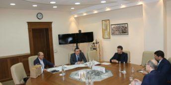 Președintele CCI a RM s-a întâlnit cu Ministrul Agriculturii, Dezvoltării Regionale şi Mediului
