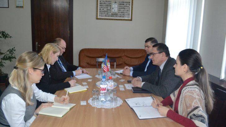 Conducerea CCI a RM a avut o întrevedere de lucru cu reprezentanții Ambasadei SUA