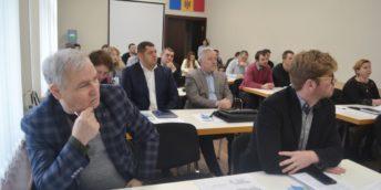 """La Chișinău s-a desfășurat sesiunea de informare: """"Sprijin pentru sectorul privat privind participarea la proiectele de eficiență energetică cu finanțare din partea Uniunii Europene"""""""