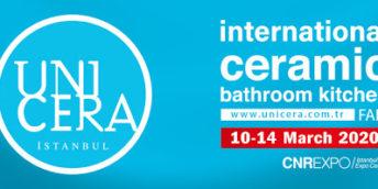 """Expoziția Internațională de Ceramică, Produse și Articole pentru Baie și Bucătărie """"UNICERA 2020"""""""