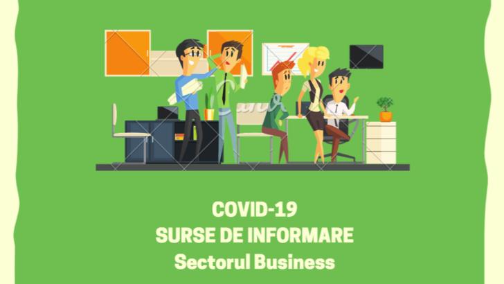 COVID-19: Surse utile de informare pentru sectorul business