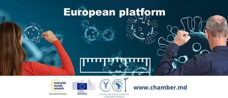 CCI a RM oferă suport mediului de afaceri prin intermediul Platformei on-line: Care & Industry together against CORONA