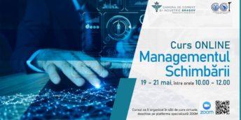 """Curs online """"Managementul schimbării"""" pentru agenții economici"""