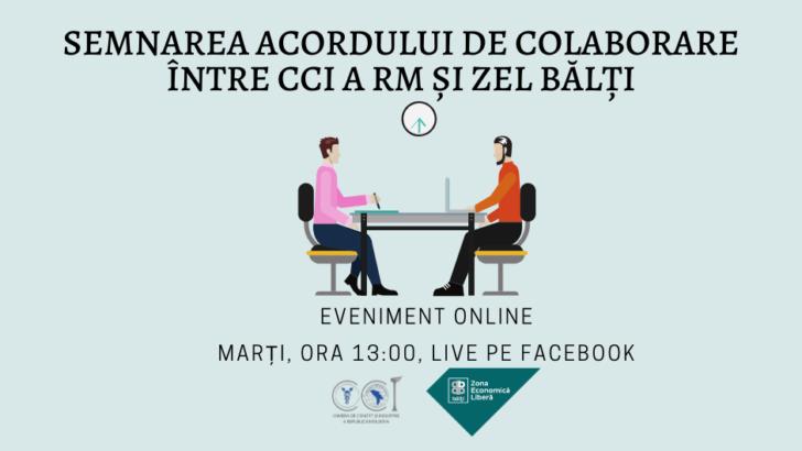 Semnarea acordului de colaborare între CCI a RM și ZEL Bălți