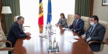 Președintele CCI a avut o întrevedere de lucru cu Prim-ministrul țării