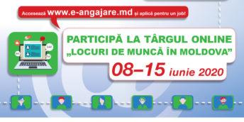 Participă la Târgul online al locurilor de muncă!