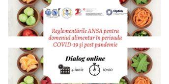 Reglementările ANSA pentru domeniul alimentar – Dialog online