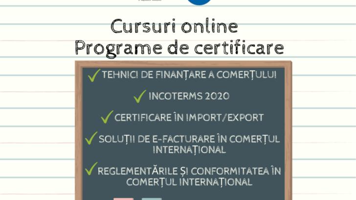 Cursuri online și Programe de certificare
