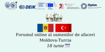 Forumul online al oamenilor de afaceri Moldova-Turcia