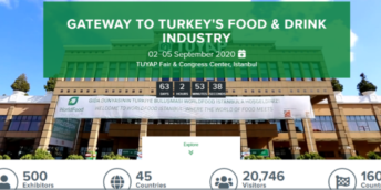 "Expoziția internațională anuală ""28th World Food Istanbul 2020"""