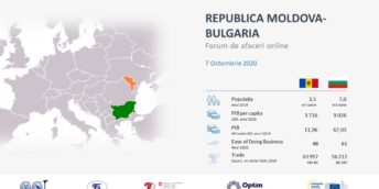 Forum online de afaceri Republica Moldova – Bulgaria