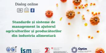 Standarde și sisteme de management în ajutorul agricultorilor și producătorilor din industria alimentară