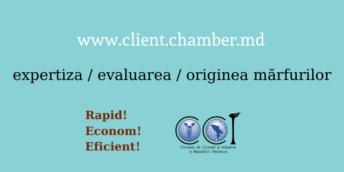 Первый 100 заявлений оформлены online через платформу ТПП www.client.chamber.md